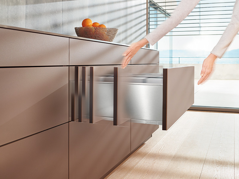 Blumu0027s Solutions For Handle Less Furniture Throughout The Home